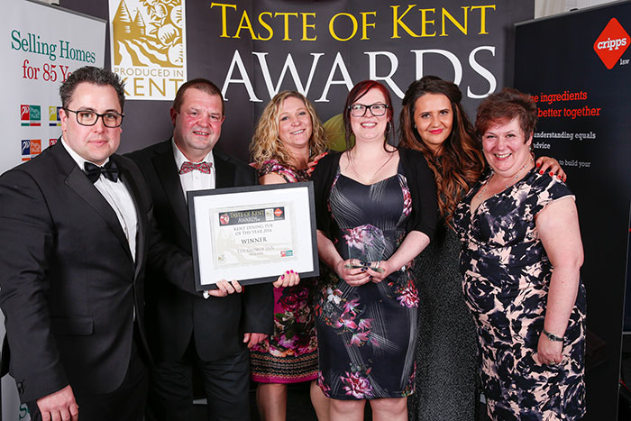 Taste of Kent Awards - The George Molash
